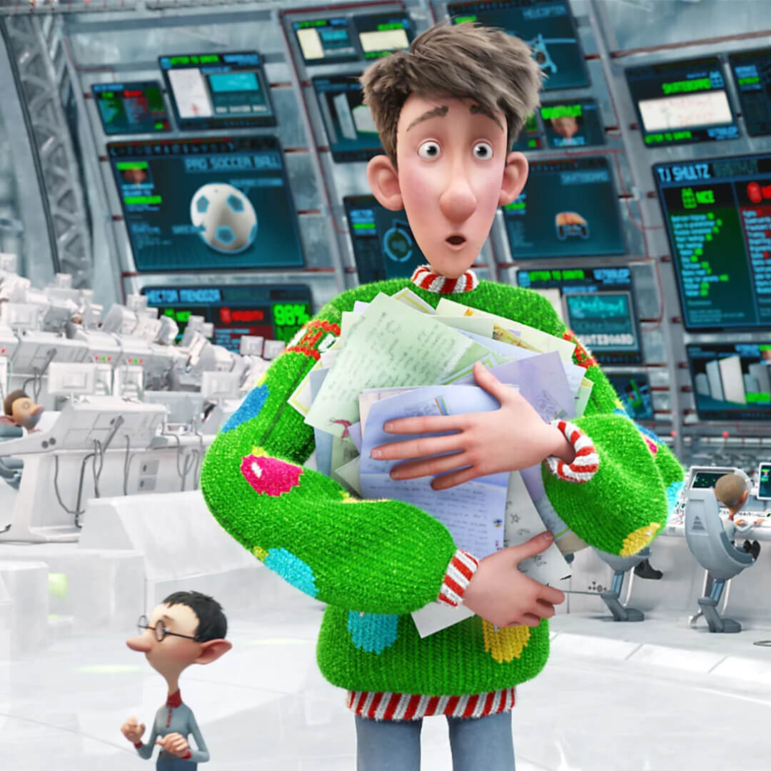 Best Christmas Animation Arthur Christmas